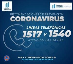 numero consultas coronavirus guatemala