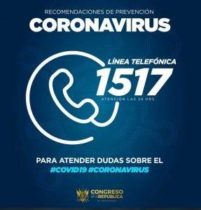 numero de coronavirus guatemala